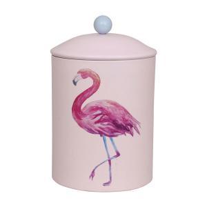 Nappburk rosa flamingo