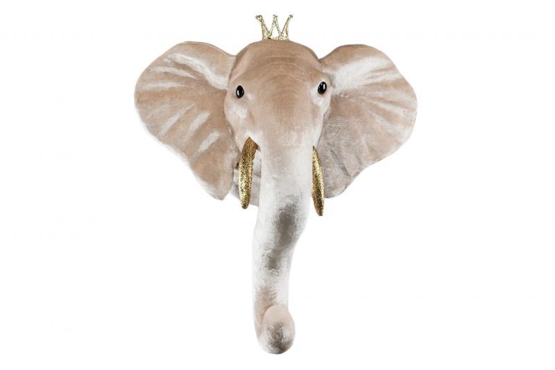 Elefant pojke väggdekoration