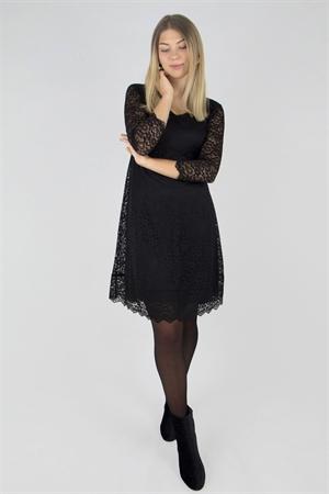 Klänning Victoria (svart) - Capri Collection