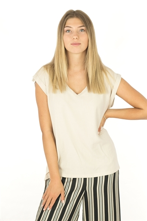 Bess Top Sand - Capri Collection