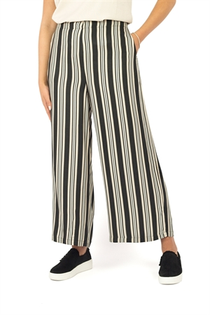 Malou Pants Black/Sandstone/Creme - Capri Collection