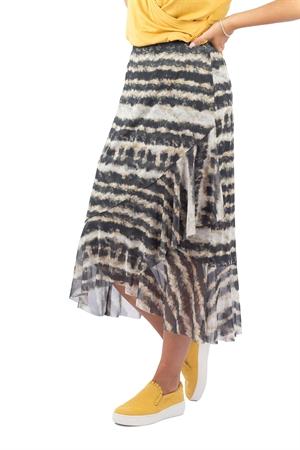 Samara Skirt Sandstone/Sun Yellow/Asphalt - Capri Collection