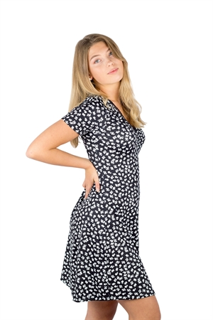 Juliette Dress Black/White - Capri Collection