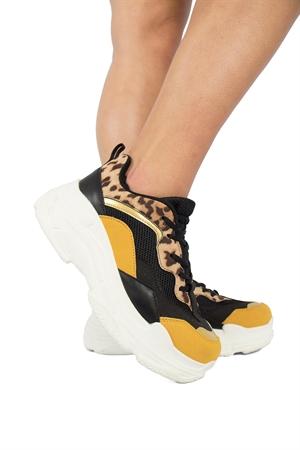 Astrid Sneaker Black Mulitcolour - Capri Collection
