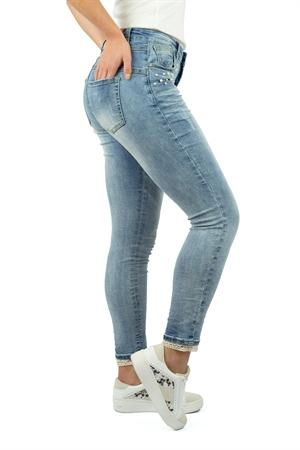 Pearl Jeans Light Blue Denim - Capri Collection