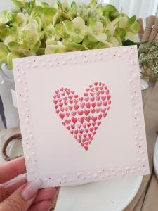 Kort med hjärta från Pictura