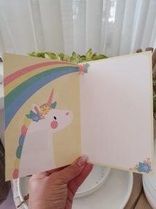 Ha en magisk födelsedag (enhörning), kort från Pictura
