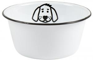 Matskål i emalj till hund (liten) - Ib Laursen