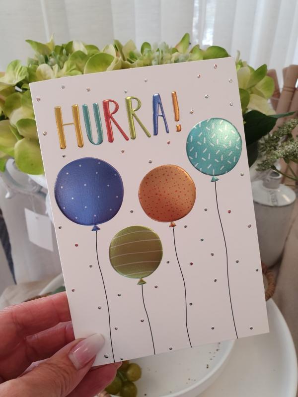 Hurra! (ballonger), kort från Pictura
