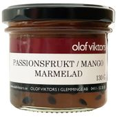 Marmelad Passionsfrukt & Mango 130g - Olof Viktors