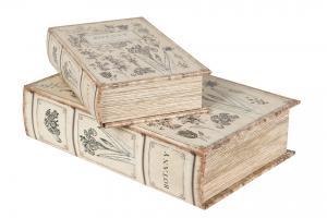 Boklåda/Bokförvaring Botany (större)