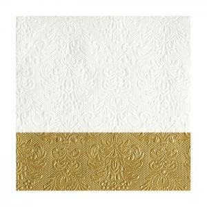 Ambiente Servetter - Elegance Dip gold