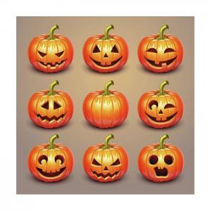 Ambiente Servetter - Halloween Pumpkins