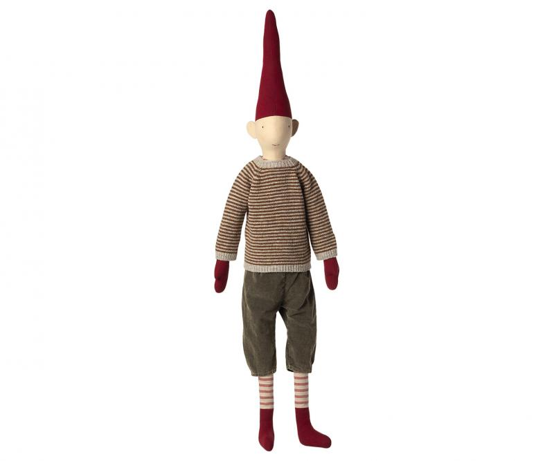 MEGA PIXY BOY, randig stickad tröja, Maileg   (2021)     LEV OKT/NOV