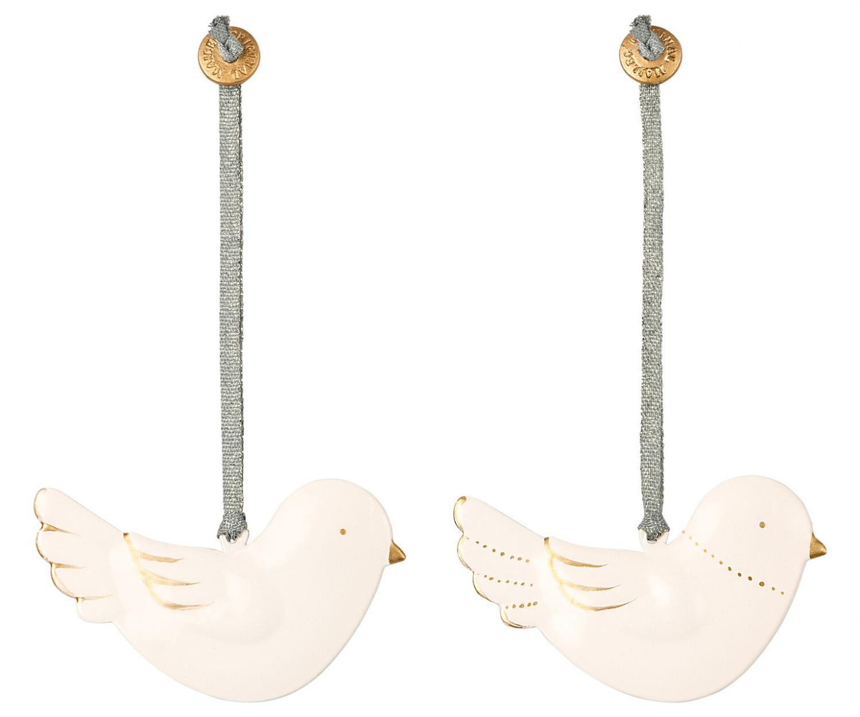Fågel i metall, Maileg