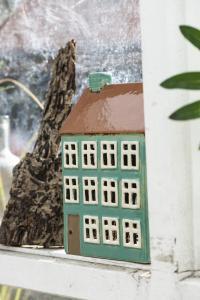 Keramikhus för värmeljus, Nyhavn 2762 - Ib Laursen - I lager mitten dec -