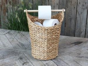Toalettpappershållare - Naturfärgad, Chic antique,