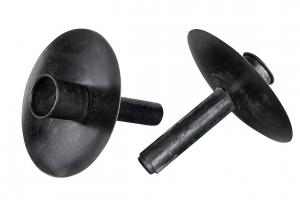 Ljushållare till flaska, svart (A lot)