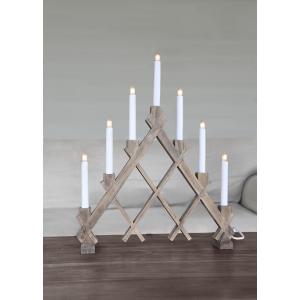 Ljusstake advent Rut, trä