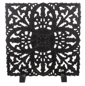 Insynsskydd tempeltavla, svart