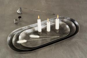 Ljushållare med magnet (silvrig/rostig)