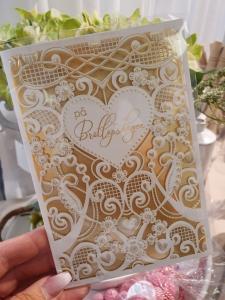 På bröllopsdagen, kort från Pictura