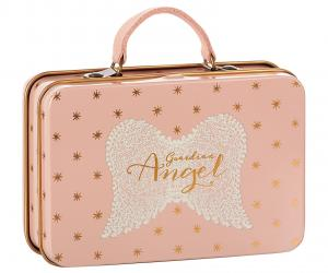 Metal Suitcase, Rose w. gold stars