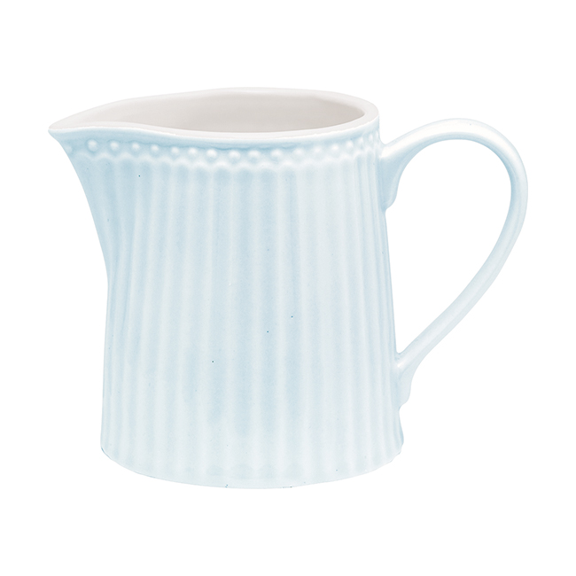 GreenGate Gräddkanna Alice Pale Blue