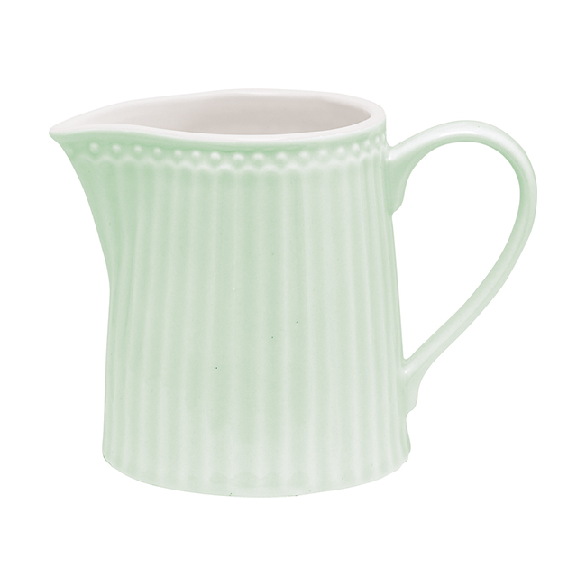GreenGate Gräddkanna Alice Pale Green