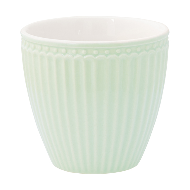 GreenGate Latte Mugg Alice Pale Green