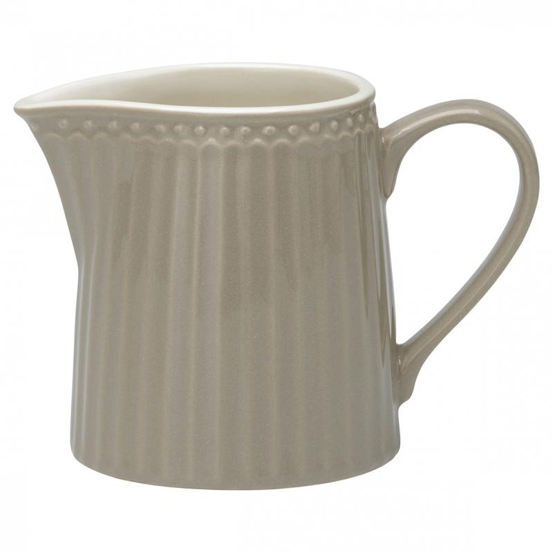 GreenGate Gräddkanna Alice Warm Grey