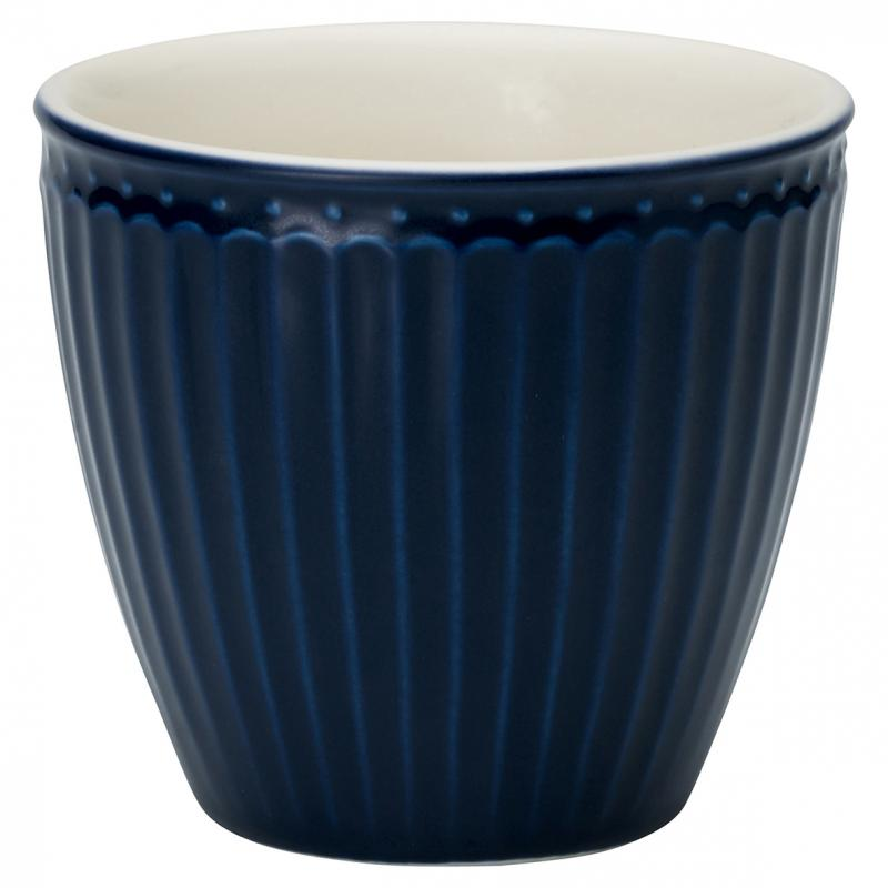 GreenGate Latte Mugg Alice Dark Blue