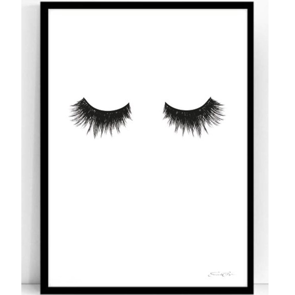 Poster - Atelje Epifor (Eyelashes)- 50x70