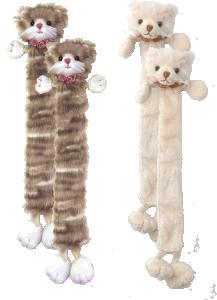 Bukowski Guccio & Maciek (bokmärke, katt)- Creme färgad