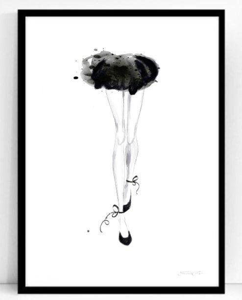 Poster - Atelje Epifor (Ballerina)- 50x70