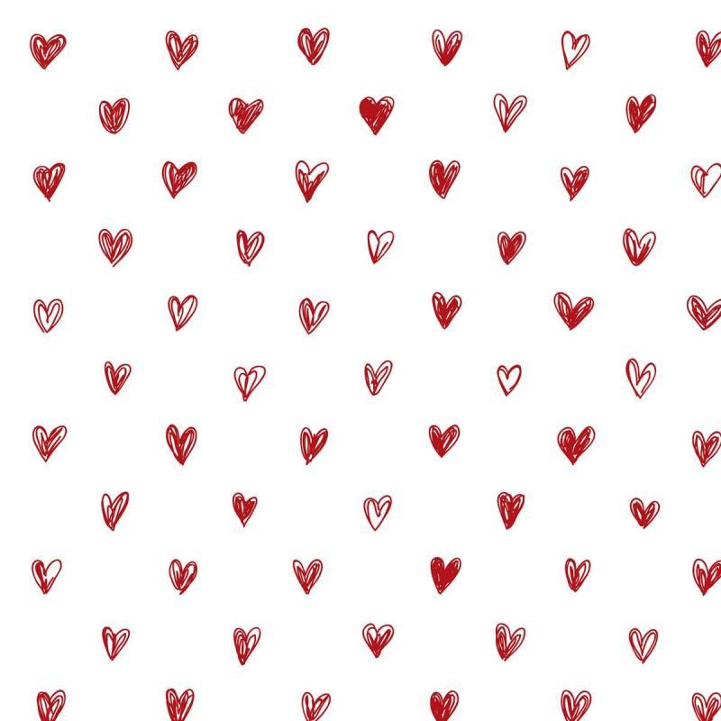 Ib Laursen Servett Röda hjärtan