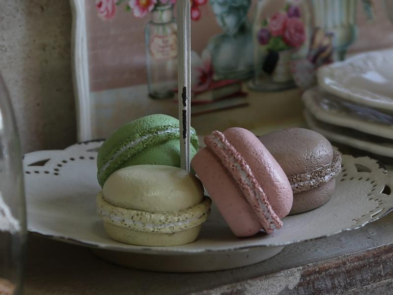 Chic Antique Macrons, dekoration