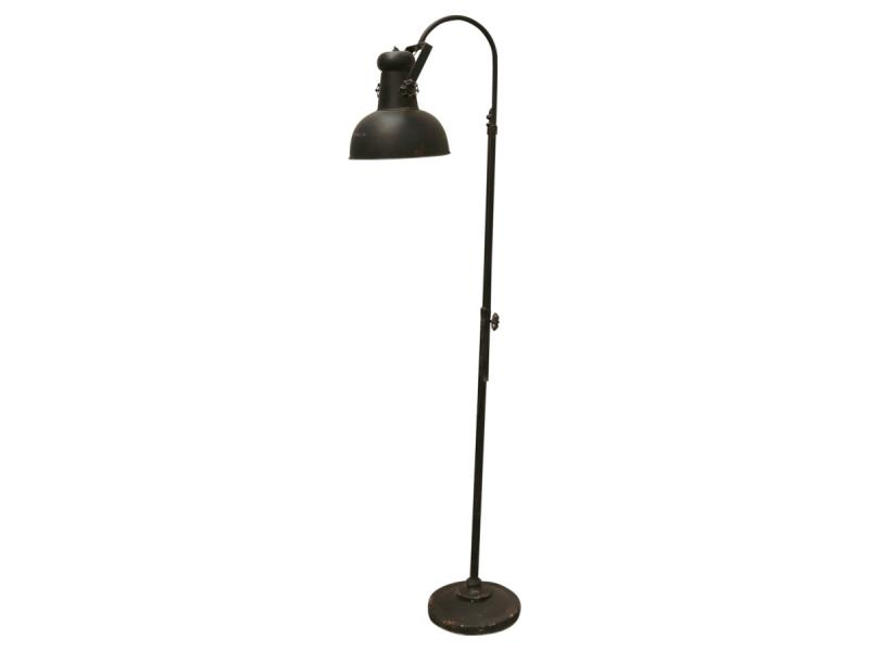 "Chic Antique golvlampa ""Factory"" - industristil"