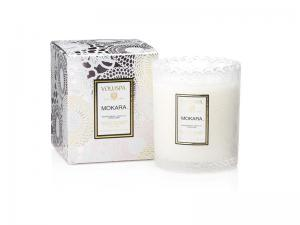 Voluspa Scalloped Edge Candle - Mokara (doftljus, Limited Edition)