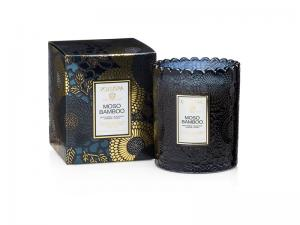 Voluspa Scalloped Edge Candle - Moso Bamboo (doftljus, Limited Edition)