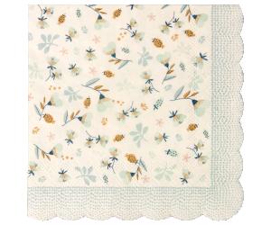 Servett - Maileg (Flower Field Blue)