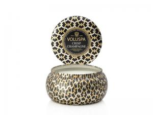 Voluspa 2-wick in tin - Crisp Champagne