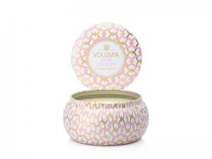 Voluspa 2-wick in tin - Pink Citron (doftljus)