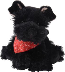 Bukowski, Baby Elvis Hund (svart dvärgschnauzer)