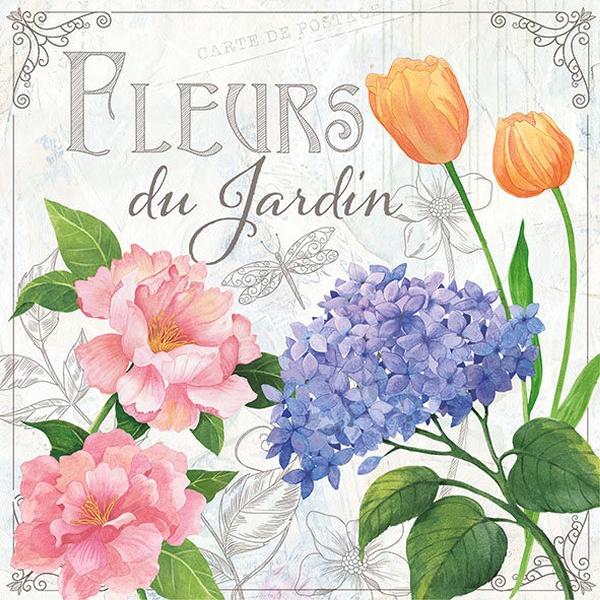 Ambiente Servetter - Fleurs De Jardin