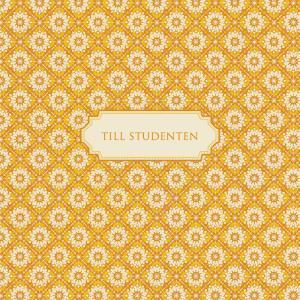 """Sköna Ting, Dubbelt kort """"Till Studenten"""""""