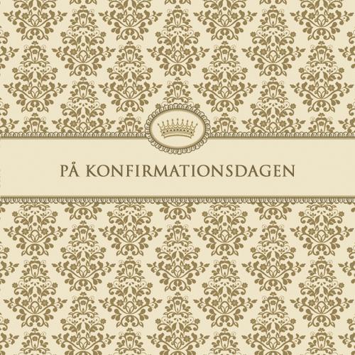 Kort från Sköna Ting - På Konfirmationsdagen
