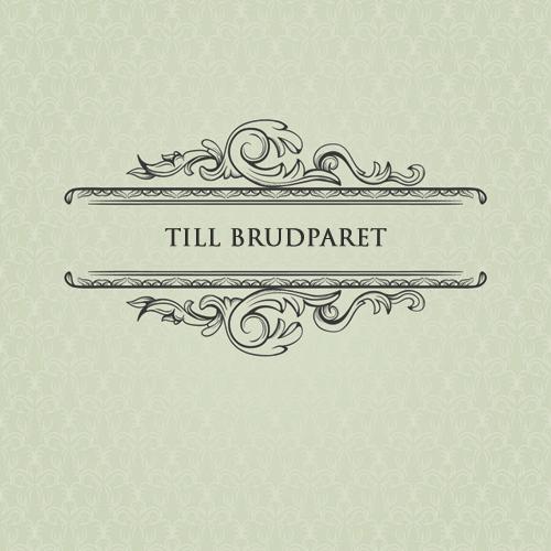 Kort från Sköna Ting - Till Brudparet