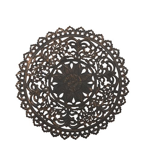 Carve Tempeltavla, rund svart (dia: 90 cm 770-485-60)