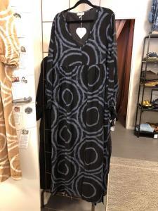 """Lång klänning """"Edith"""", svart - Gemini"""